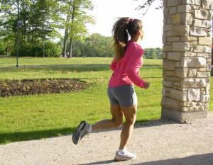 Evamarie running